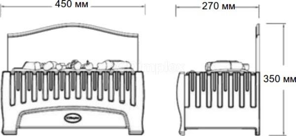 Электрокамин Dimplex Opti-myst Westbrook. Фото 3